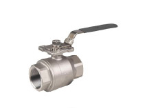 Threaded and socket weld ball valve